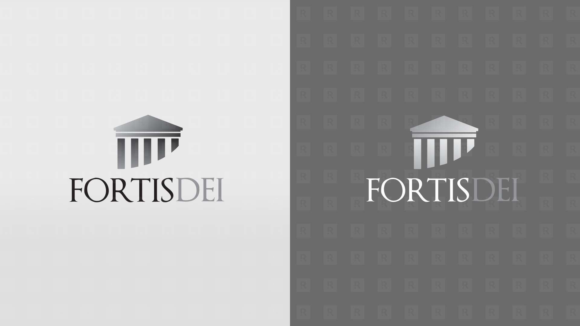 Fortis Dei Logo One Color