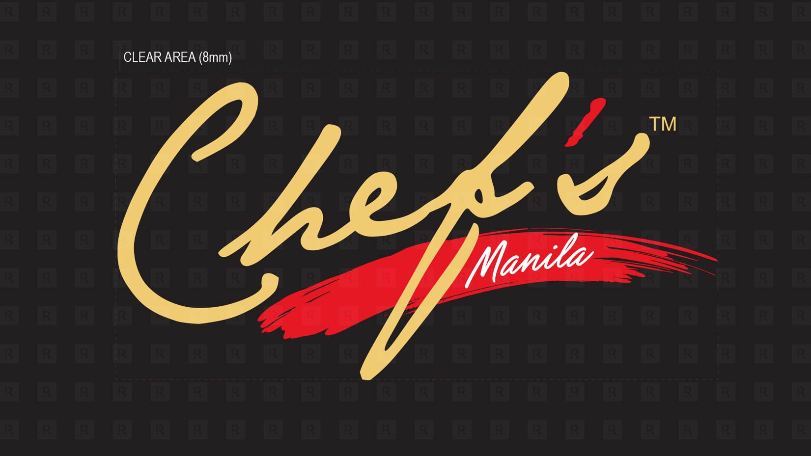 The Chef's Manila Logo Identity