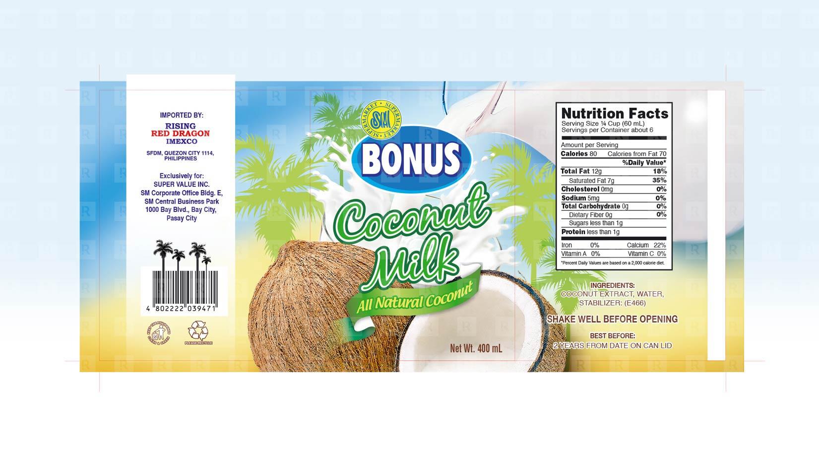 SM Bonus Coconut Milk