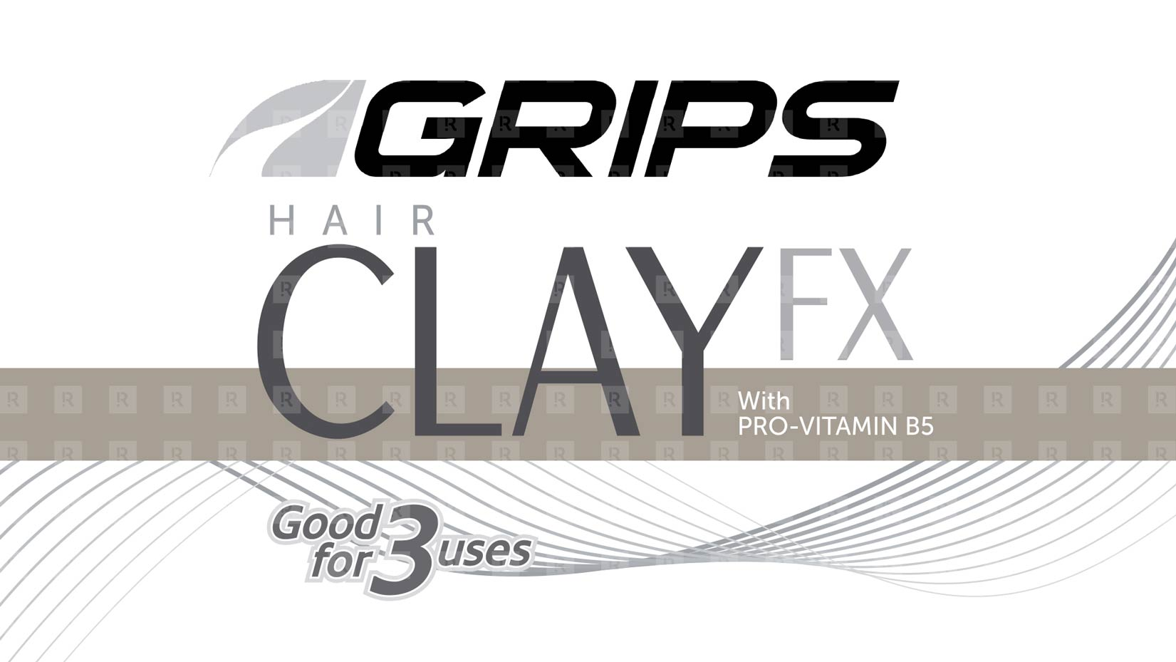 Grips Hair Clay FX  brand design