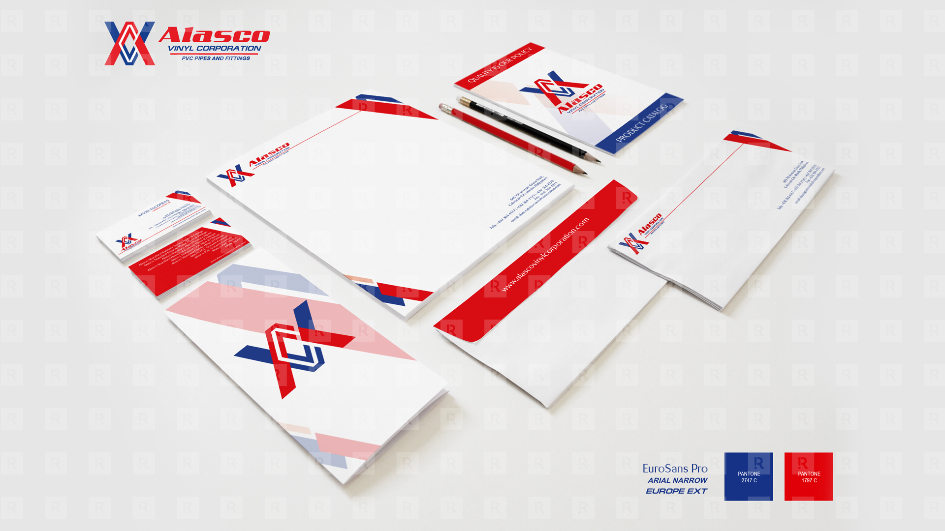 Alasco Corporate Identity Design