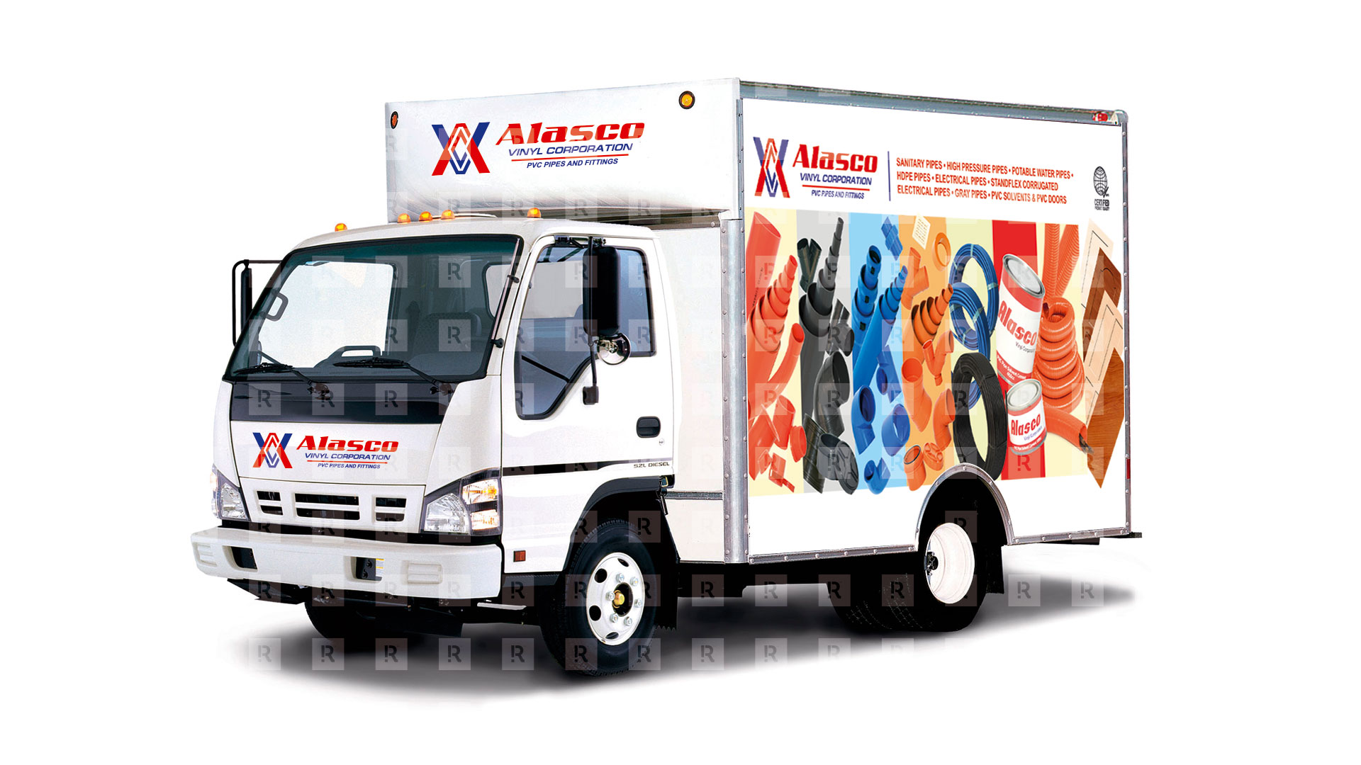 Alasco Delivery Truck