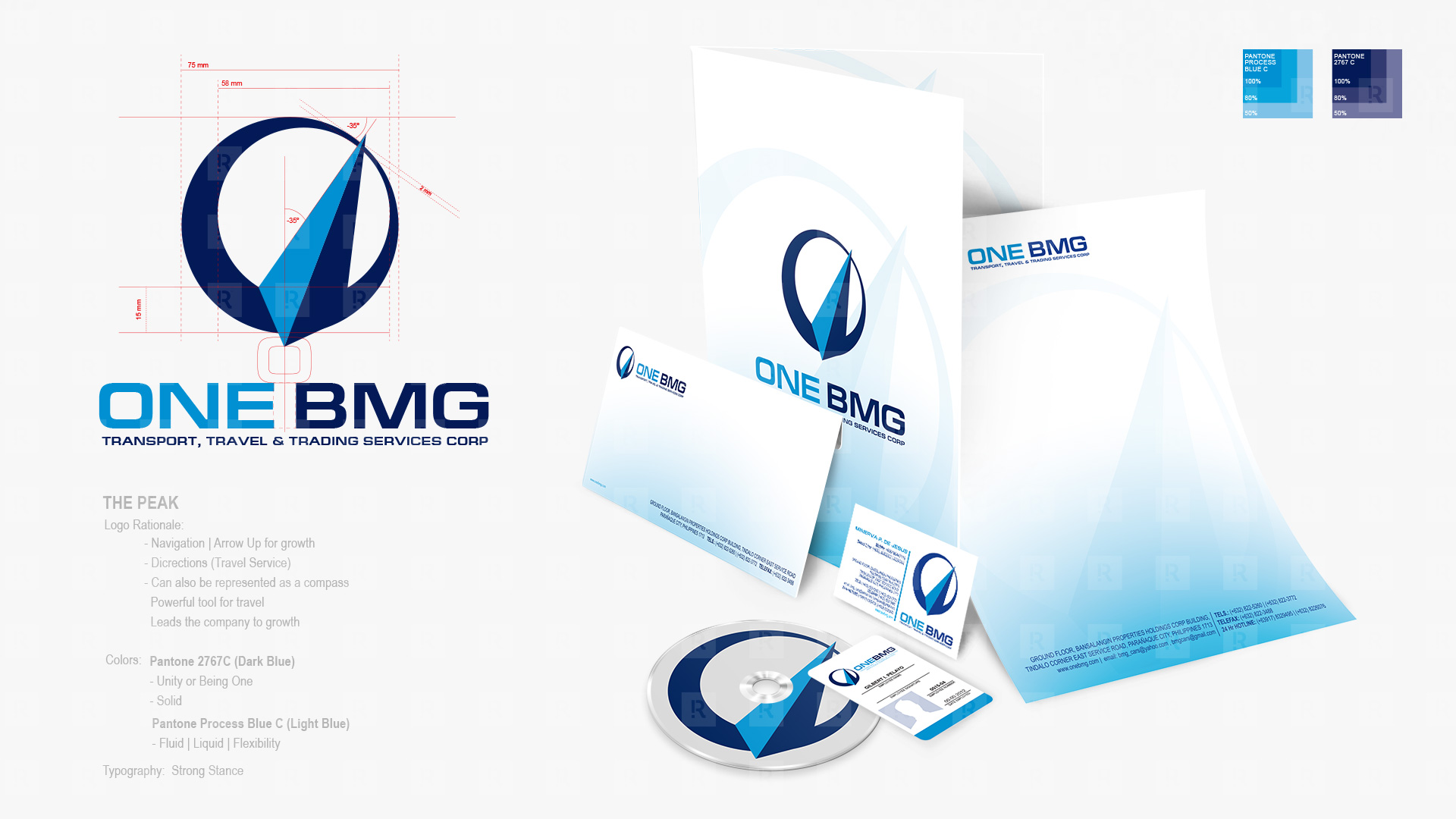 One BMG corporate Identity & Logo Standard