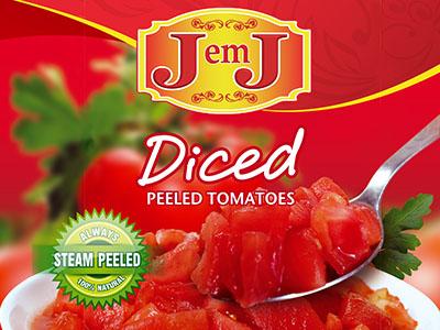 JemJ Diced Tomato