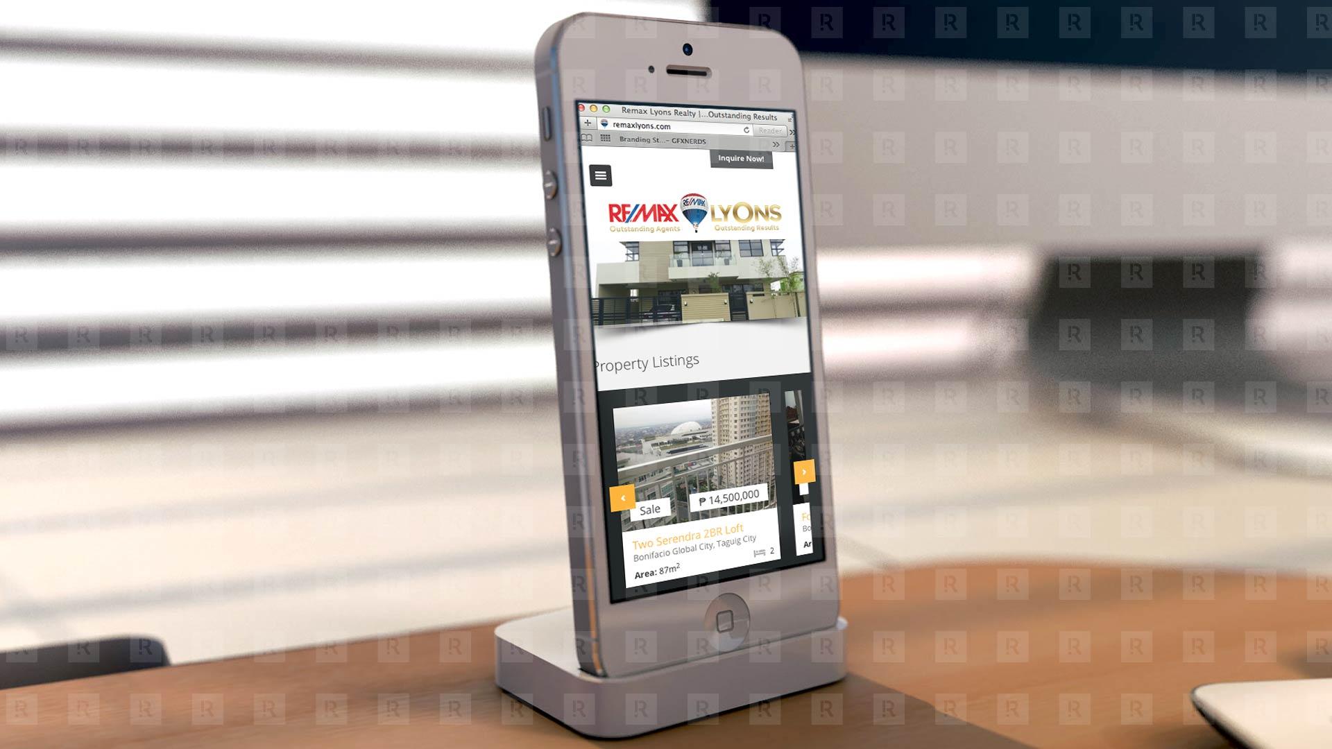 Remax Lyons Responsive Web Design
