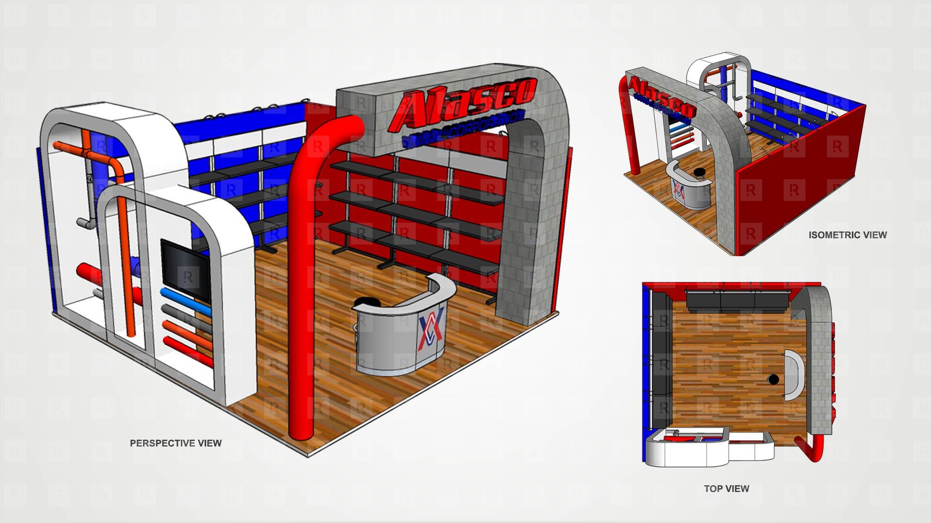 Alasco Booth 3D
